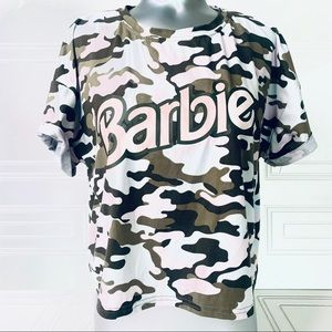 Barbie Camouflage top